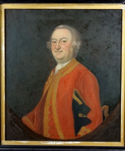 Gen. John Winslow (1703-1774) by Joseph Blackburn (1700-1765), Boston, Massachusetts, c. 1756, oil on canvas, PHM 0056, Gift of Abby Frothingham Gay Winslow, 1883